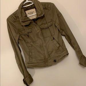 Abercrombie - Short kaki jacket